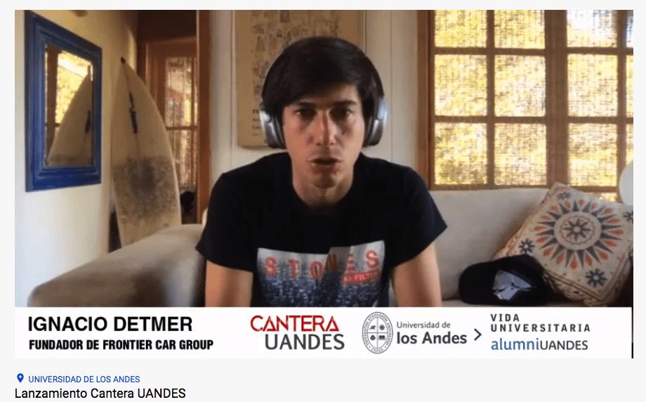 Lanzamiento Cantera UANDES